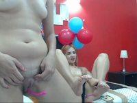 Charlotte Jonnes & Kaitlynn Fernandez Private Webcam Show