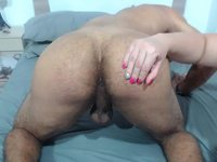 Samanta Cabrales & Carlos Andradee Private Webcam Show
