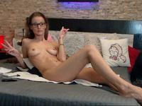 Christine Blonde Private Webcam Show - Part 2
