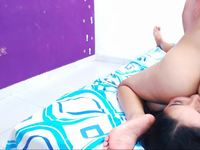 Luciana Naughty & Michell Horny Private Webcam Show