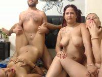 Dallas & Brenda & Fanny & Lacey Private Webcam Show