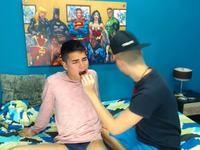 Danter & Kriss Private Webcam Show