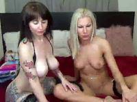 Barbi Black & Black Pegazus Private Webcam Show
