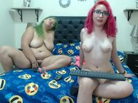 Candyy & Thifany Private Webcam Show