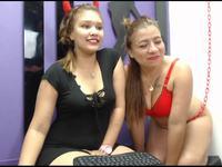 Hanna & Tere Private Webcam Show
