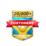 20,000+ Customers