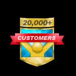 20,000+ Customers
