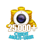 25,000+ Credit Multi-User Show