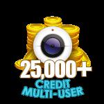 25,000+ Credit Multi-User Show