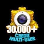30,000+ Credit Multi-User Show