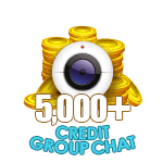 5,000 to 9,999 Credit Group Chat