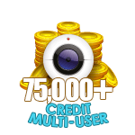 75,000+ Credit Multi-User Show