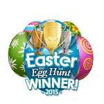 Easter 2015 Egg Hunt Winner