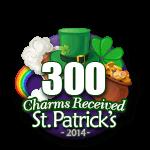 300 Charms