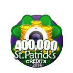 St Patricks 400,000 Credits