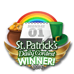 St Patricks 2014 Daily Winner