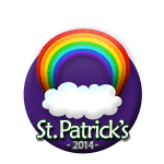 St Patricks 2014 Rainbow
