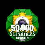 St Patricks 50,000 Credits