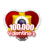 Valentine's 100,000 Credits