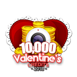 Valentine's 10,000 Credits