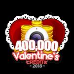 Valentine's 400,000 Credits