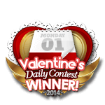 Valentines 2014 Daily Winner