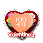 Too Hot Candy Heart
