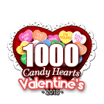 1000 Candy Hearts