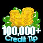 100,000 - 119,999 Credit Tip