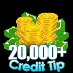 20,000 - 29,999 Credit Tip