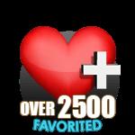 2500 Favorites