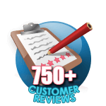 750 Customer Reviews