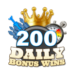 200 Daily Bonus Wins