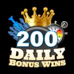 200 Daily Bonus Wins
