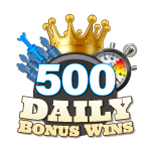500 Daily Bonus Wins