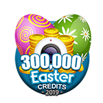 Easter 300,000 Credits