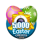 Easter 5,000 Credits