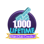 1k Lifetime Fan Club Credits