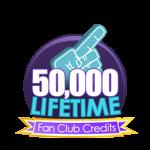 50K Lifetime Fan Club Credits