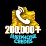 Flirt Phone 200,000 Credits