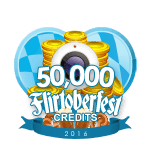 Flirtober's 50,000 Credits