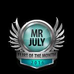Mister July 2016