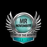 Mister November 2016