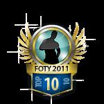 Guys FOTY 2011 10 Badge