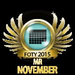 Mister November 2015