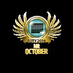 Mister FOTY October 2016