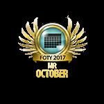 Mister FOTY October 2017
