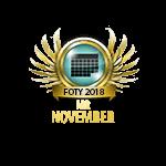 Mister FOTY November 2018