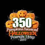 Halloween 350 Pumpkins