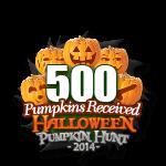 Halloween 500 Pumpkins